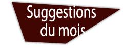 Suggestions du mois