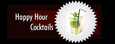Happy Hour sur Cocktails
